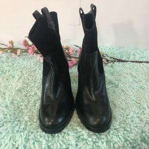 Ralph Lauren Black Short Booties SZ 6.5B